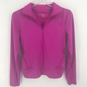 Pink Champion DuoDry Zip Up jacket Woman's XS